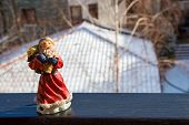 Russian Christmas character Daddy Frost Ded Moroz