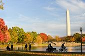 stock photo of washington monument  - Washington DC  - JPG