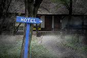 Dark Foggy Hotel
