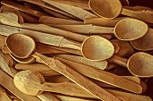 Vintage Look At Handmade Wooden Spoons