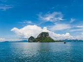 Poda beach in Krabi Thailand