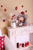 Cozy Christmas home interior