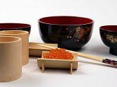 Ikura On Bamboo Cup