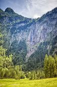 picture of bavaria  - An image of the highest waterfall in Germany - JPG