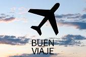 foto of bon voyage  - Airplane icon  - JPG