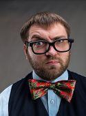 image of nerds  - Strange nerd  - JPG