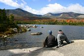 Couple At Katahdin