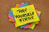 Pay Yourself First - Reminder
