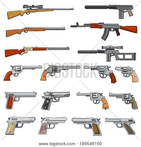 Various rifle guns