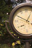 Clock Barometer Thermometer
