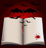 dark Book And Bats