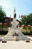 War Statue In France