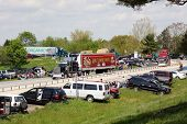 Make-A-Wish truck convoy fundraiser