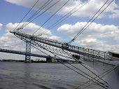 Bridge Through a Mast