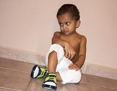 Young Indian Baby