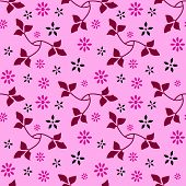Seamless Floral Pattern 09