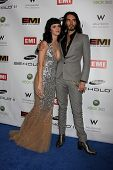 LOS ANGELES, CA - FEB 13: Katy Perry & Russell Brand at the EMI GRAMMY After-Party at Milk Studios on February 13, 2011 in Los Angeles, California