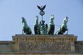 Quadriga of The Brandenburg gate