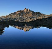 Mount Humphreys Reflection