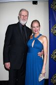 LOS ANGELES - FEB 12:  James Cromwell, Penelope Ann Miller at the Press Area of the 2012 American Society of Cinematographers Awards on February 12, 2012 in Los Angeles, CA
