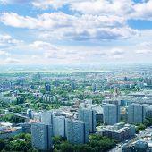 Berlin bird's-eye view. Germany