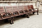 bench in imperial palace
