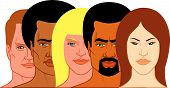 Interracial Group Of People