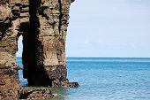 Ocean Rock Formation