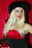 UNIVERSAL CITY - DEC. 4: Sabrina Parisi arrives at publicist Mike Arnoldi's birthday celebration & B