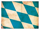 Grunge Flag Of Bavaria (germany)