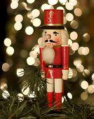 Nussknacker von Weihnachtsbaum