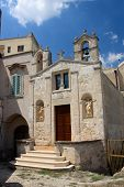 Small Church In Matera Italy