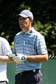 Professional Golfer Padraig Harrington