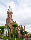 Ignatius Of Loyola Catholic Church In Kolomyia, Western Ukraine. Built 1897