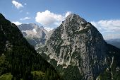 German Alps - Zugspitze, Germanys Highest Mountain