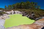 Devil's Bath, Wai-o-tapu Thermal Wonderland, Rotorua, New Zealand