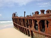 Maheno Ship Wreck, Fraser Island, Australia