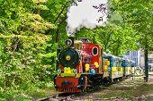 Steam Locomotive On Kiev Children's Railway, Ukraine (750 Mm (2 Ft 5 1?2 In) Gauge)