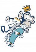 Monkey Skater.