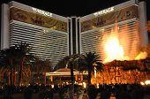 Vulcão no Mirage Hotel & Casino em Las Vegas