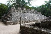 Mayan Pyramid  Ballcourt Goal