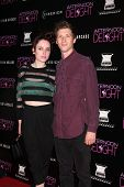 LOS ANGELES - AUG 19:  Zoe Lister Jones and Daryl Wein at the