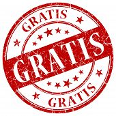 Gratis Red Stamp