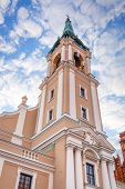 Church of Holy Spirit in old town of Torun, Poland
