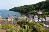Cawsand Cornwall England United Kingdom on the Rame Peninsula