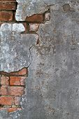 Concrete And Brick Texture