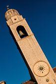 Clock Tower In Dubrovnik, Croatia