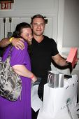 LOS ANGELES - AUG 24:  Molly McChesney- fan, Billy Miller at the Young & Restless Fan Club Dinner at the Universal Sheraton Hotel on August 24, 2013 in Los Angeles, CA