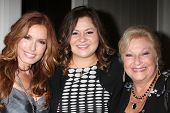 LOS ANGELES - AUG 24:  Tracey E. Bregman, Angelica McDaniel, Beth Maitland at the Young & Restless F
