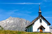 Small chapel in the alps